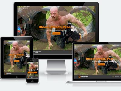Bryan's Quarry Dash & Mud Run custom divi css3 html5 non-profit wordpress