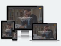 Job site using Divi
