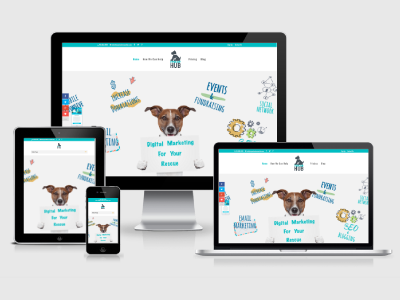 Web Service for Animal Rescues wordpress css3 divi