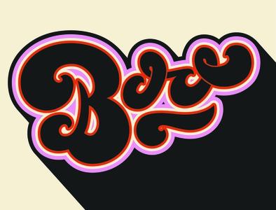 Boo 70type 70s ghost halloween typography typography spooky handlettering lettering halloween