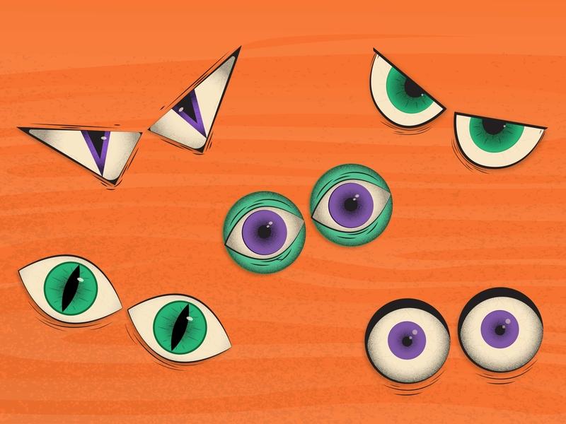 Halloween is still happening right? spooky illustration illustration creeper halloween face halloween eyes fog eyes spooky eyes spooky halloween creepy