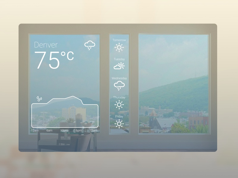 Daily UI Day 37: Weather