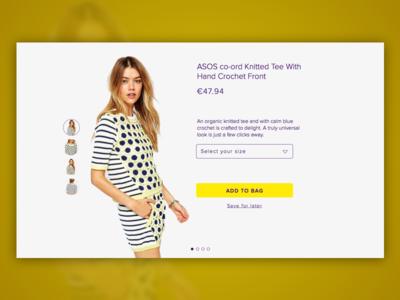 E-commerce Item Page