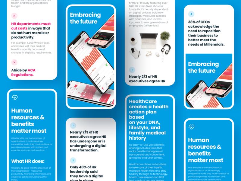 Healthcare Medical Startup promo information web flat mobile app app typography minimal ux design ui health mobile