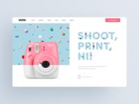 Fujifilm Instax Mini Promo Site