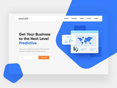 Marketing Website Design landing ai marketing figma web design typography web illustration website information design ui ux