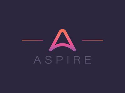 Aspire Branding illustrator branding logo design