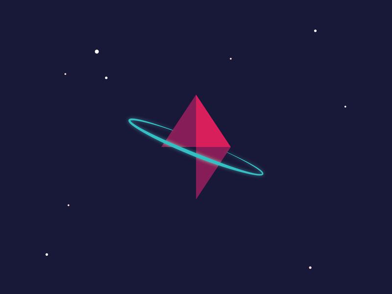 Space Geode illustrator design