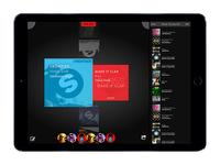 Crossfader iPad Pro Concept