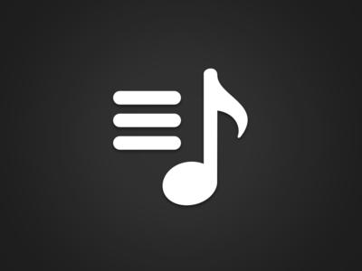 Playlist Icon By William Newton Dribbble