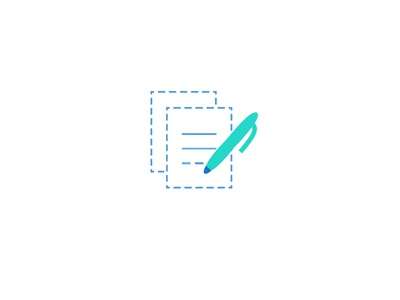 Less is more! (Icon) illustration line icon