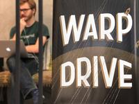 Warp Drive! Hackathon Poster