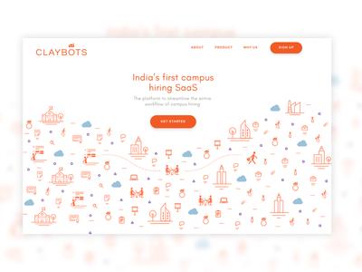 Claybots Homepage Re-design