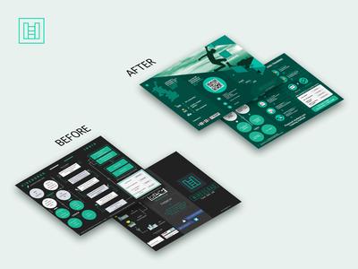 Brochur design for HiredGrad - Print Design