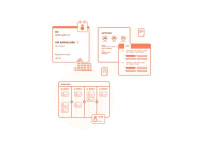 UI snippet illustration for Claybots - Website Illustrations