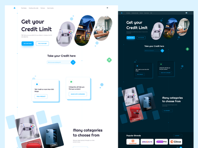 TBC Credit Redesign - Concept product payment debt bank credit tbc branding concept desktop website page ux ui design