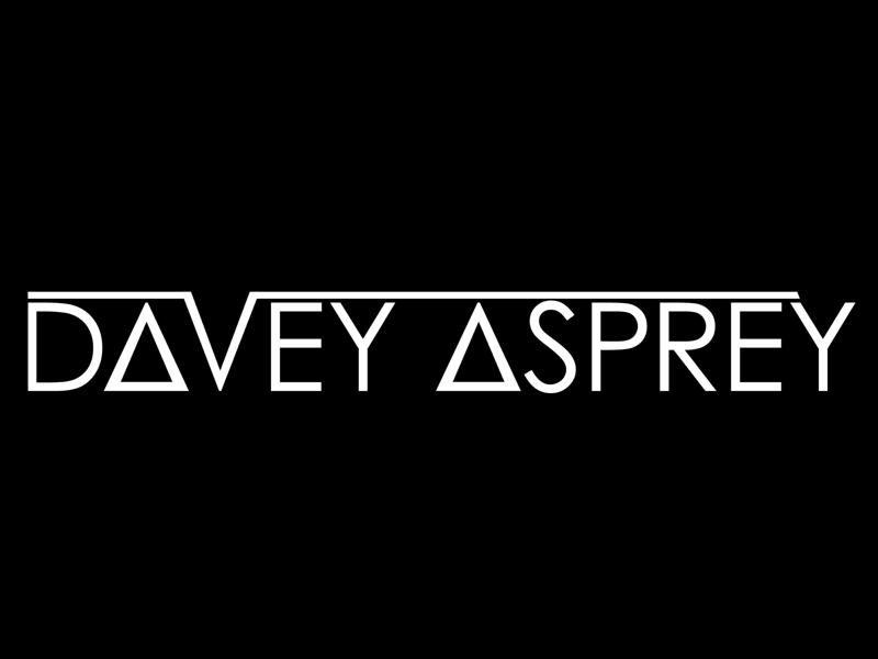 Davey Asprey Logo illustrator artist label brand concept logo dance edm music trance