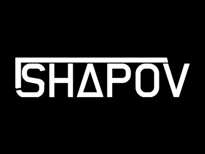 Shapov Logo Concept concept brand logo illustrator electronic edm trance dance dj russia russian music producer