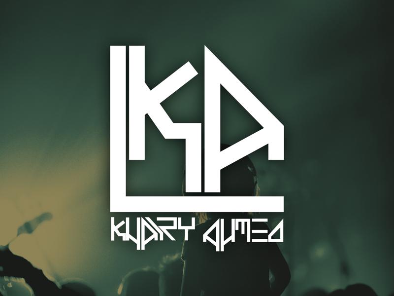 Khairy Ahmed Logo unsplash illustrator concept brand designer design logodesign ai logo electronic trance electronicmusic music musicproducer producer
