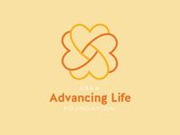 Unused Advancing Life Logo