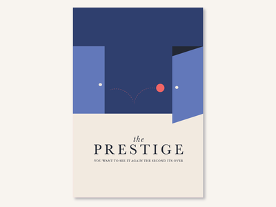 the-prestige-1 flat vector design illustration
