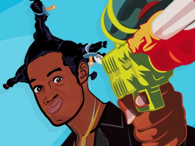 Loc Dog (Dont Be A Meance While Drinkin Your Juice In The Hood) super soaker 90s movie loc dog