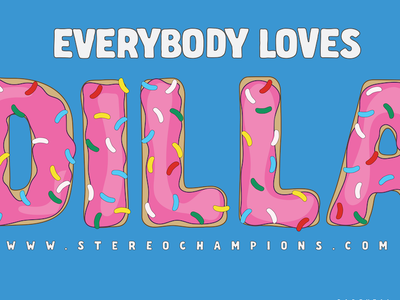 Everybody Loves Dilla (Cover) tracklist donuts dilla jay dee james yancey j dilla