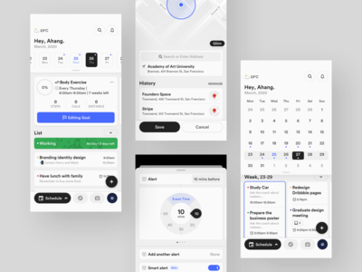 Calendar Concept Application 2