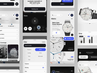 Watch Shopping Concept Application