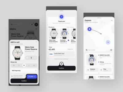 Watch Store Concept Application
