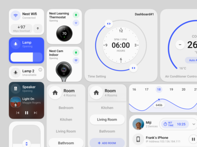 Smart Home Control Element