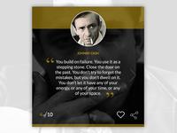 Johnny Cash Quote Box