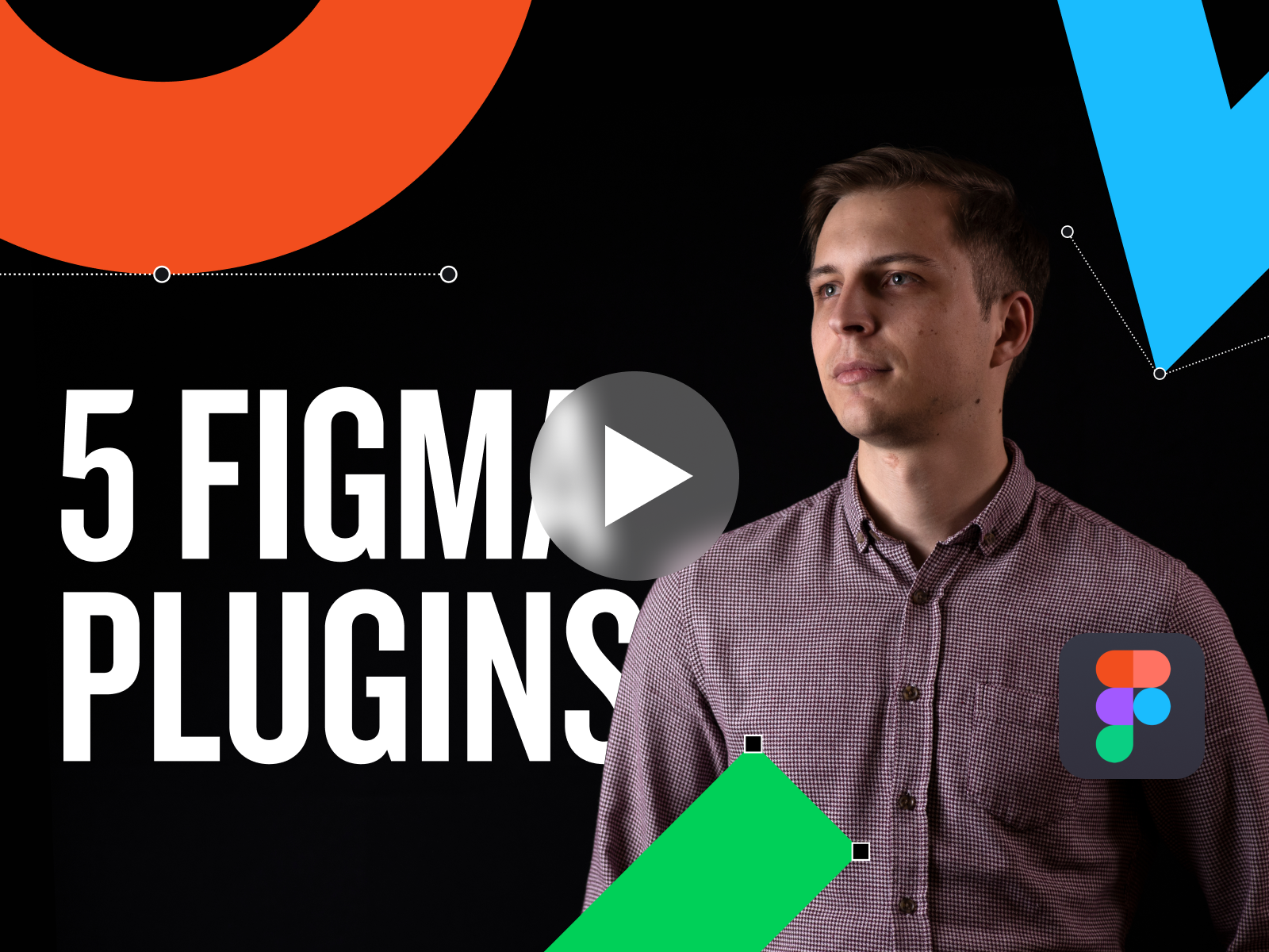 🎥 New Video —5 Figma Plugins for UI/UX Designers in 2021