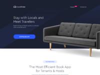 Couchfinder   app landing page