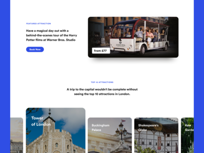 Visit London - Featured Attraction