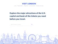 Visit london landing page