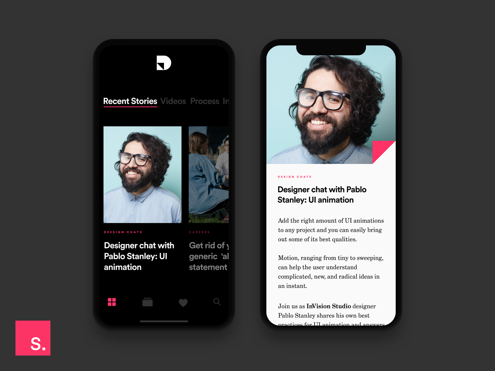 Inside design invision app