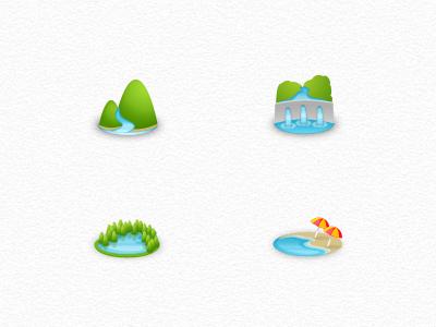 """""""Landscape"""" Icons"""