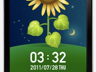 Flower Clock App