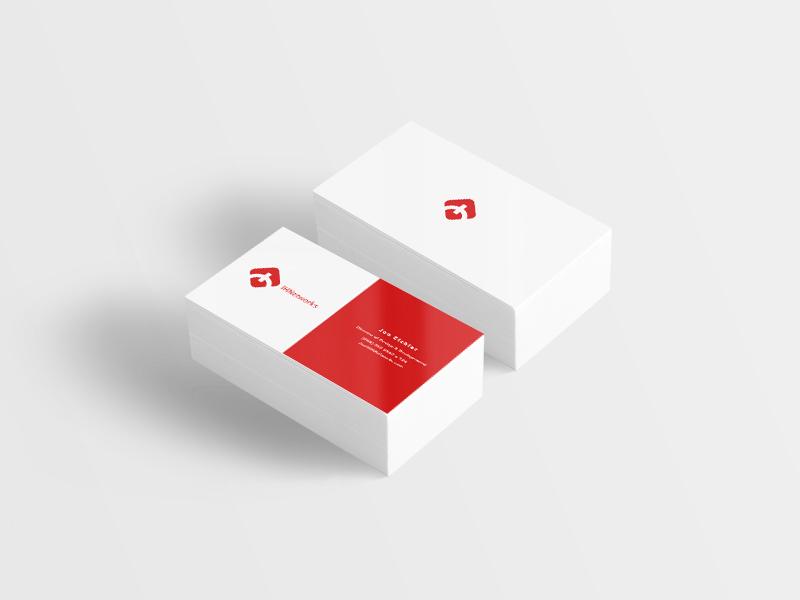 IHNetworks Business Cards ihnetworks hosting print branding cards business
