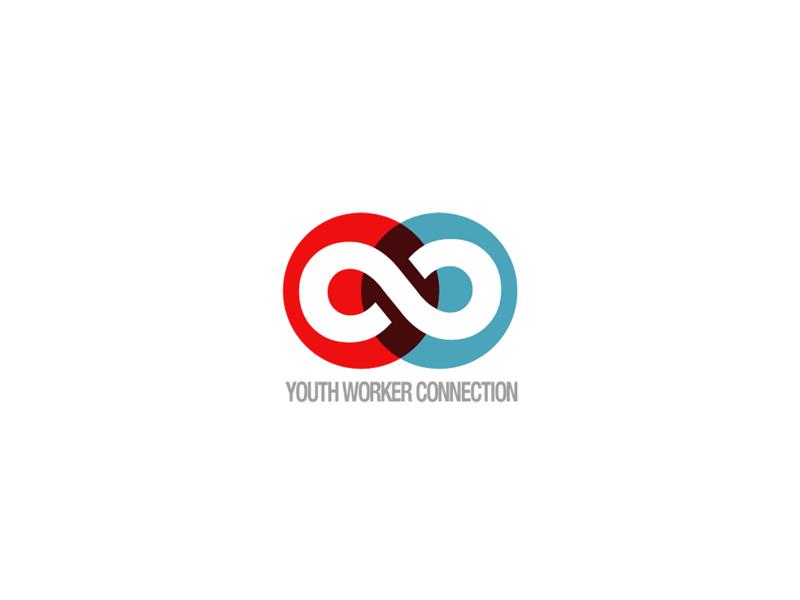 Youth Worker Connection watermark vector symbol mark logo identity emblem design branding brand
