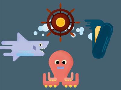 Frutti Di Mare - Vector