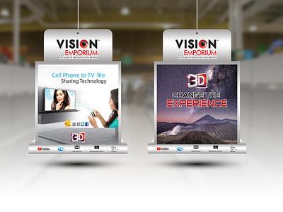 Vision TV Dangler advertisment advertise advertisement advertising branding