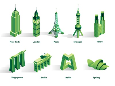 Cities: Iconic Buildings