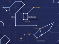 Sky Map Infographic