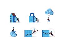 BBVA Economy Icons