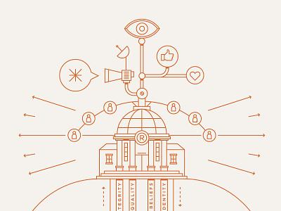 IHG-Illustrations company value hotels linear vector illustration