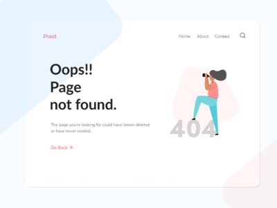 Design #4 - Error Page