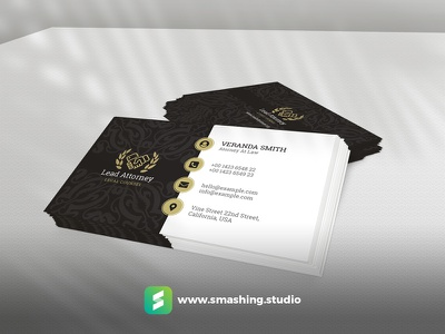 Free Business Card Mockup visiting card royal isometric lawyer free mockup business card freebie