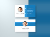 Corporate Business card Template & Mock-up